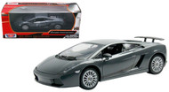 Lamborghini Gallardo Superleggera Grey 1/24 Scale Diecast Car Model By Motor Max 73346