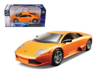 Lamborghini Murcielago LP640 Orange 1/24 Scale Diecast Car Model By Maisto 31292