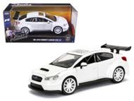 Mr Little Nobodys Subaru WRX STi Fast & Furious 8 1/24 Scale Diecast Car Model By Jada 98296