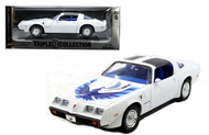 1980 Pontiac Firebird Trans AM T/A White Eagle Decal 1/18 Scale Diecast Car Model By Greenlight 50831