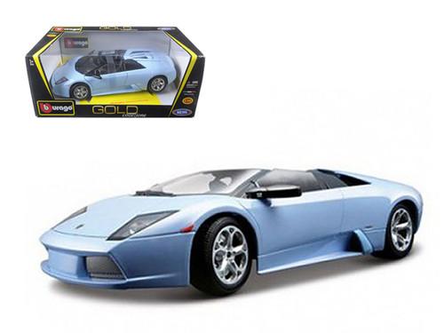Lamborghini Murcielago Roadster Blue 1/18 Scale Diecast Car Model By Bburago 12070