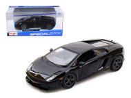 Lamborghini Gallardo LP560-4 Black 1/24 Scale Diecast Car Model By Maisto 31291