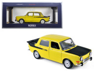 1976 Simca 1000 Rally 2 Maya Yellow 1/18 Scale Diecast Car Model By Norev 185708