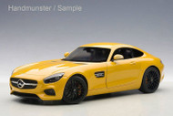 Mercedes Benz AMG GT S Yellow 1/18 Scale Diecast Car Model By AUTOart 76314