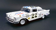 1957 Chevy Bel Air #22 Fireball Roberts 1958 Southern 500 Winner Darlington 1/18 Scale By ACME A 1807002