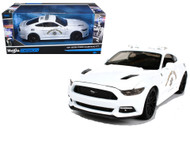 2015 Ford Mustang GT CHP California Highway Patrol AUTHORITY 1/24 Scale Diecast Car Model Maisto 32514