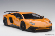 Lamborghini Aventador LP750-4 SV Metallic Orange 1/18 Scale Diecast Car Model By AUTOart 74557