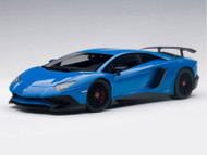 Lamborghini Aventador LP750-4 SV LeMans Blue 1/18 Scale Diecast Car Model By AUTOart 74559