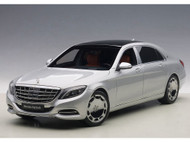 Mercedes Benz Maybach S Klasse S600 Silver 1/18 Scale Diecast Car Model By AUTOart 76292