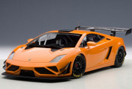 Lamborghini Gallardo GT3 FL2 2013 Metallic Orange 1/18 Scale Diecast Car Model By AUTOart 81357