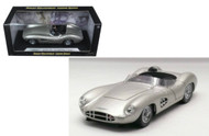 1959 Aston Martin DBR1 Silver 1/18 Scale Diecast Car Model By Shelby Collectibles SC 107