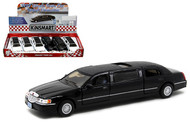 1999 Lincoln Town Car Stretch Limousine Box Of 6 1/32 Scale By Kinsmart KT7001DH