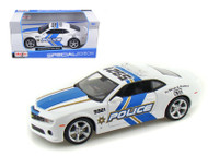 2010 Chevy Camaro RS SS Police Sheriff 1/24 Scale Diecast Car Model By Maisto 31208