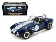 1965 Shelby Cobra 427 S/C Blue 1/18 Scale Diecast Car Model By Shelby Collectibles SC 121