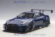 Nissan GT-R Nismo GT3 Aurora Flare Blue Pearl 1/18 Scale Diecast Car Model By AUTOart 81584