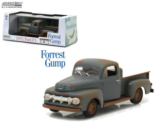 1951 Ford F-1 Truck Run Forest Run Forest Gump 1/43 Scale By Greenlight 86514