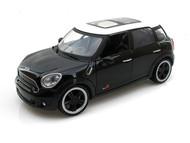 2011 Mini Cooper Countryman S Black 1/24 Scale Diecast Car Model By Motor Max 73353