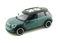 2011 Mini Cooper Countryman S Green 1/24 Scale Diecast Car Model By Motor Max 73353