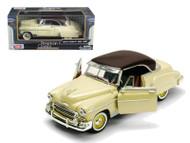 1950 Chevrolet  Bel Air Beige 1/24 Scale Diecast Car Model By Motor Max 73268