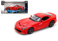 2013 Dodge SRT Viper GTS Red 1/24 Scale Diecast Car Model By Maisto 31271