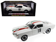 1965 Ford Shelby Mustang GT350R #18 Mexico 1/18 Scale Diecast Car Model By Shelby Collectibles SC357