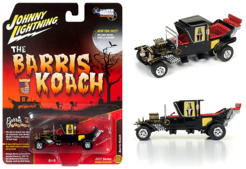 Munsters Barris Koach Silver Screens 1/64 Scale By Johnny Lightning JLSS002