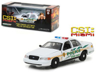 Ford Crown Victoria Police CSI Miami Dade Police Car 1/43 Scale Greenlight 86508
