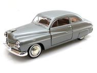 1949 Mercury Coupe Grey 1/24 Scale Diecast Car Model By Motor Max 73225