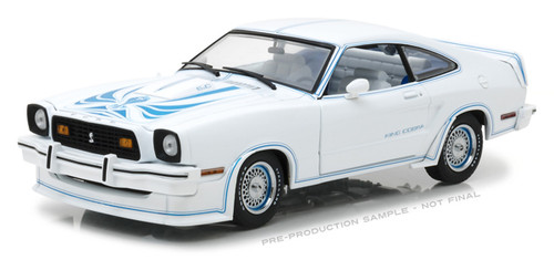1978 Ford Mustang II King Cobra White 1 18 Scale Diecast Car Model By Greenlight 13508