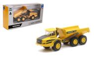 "Volvo A25G Construction Dump Truck Diecast 6"" X 3"" X 2"" By Newray 32103"