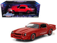 1981 Chevrolet Camaro Z-28 Yenko Turbo Z Red 1/18 Scale Diecast Car Model By Greenlight 12999