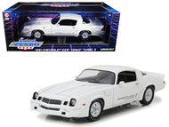 1981 Chevrolet Camaro Z-28 Yenko Turbo Z White 1/18 Scale Diecast Car Model By Greenlight 12998