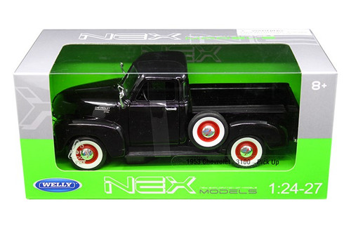 1953 Chevrolet 3100 Pickup Truck 1/24 Scale Diecast Car Model By Welly 22087