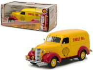 1939 Chevrolet Panel Truck Shell Oil Running on Empty 1/24 Scale By Greenlight 18237