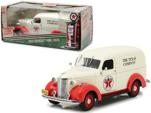 1939 Chevrolet Panel Truck Texaco Running on Empty Series 1/24 Scale By Greenlight 18238