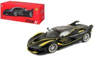 Ferrari FXX K #44 Black Signature Series 1/18 Scale Diecast Car Model Bburago 16907