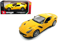 Ferrari F12 TDF Yellow 1/24 Scale Diecast Car Model By Bburago 26021