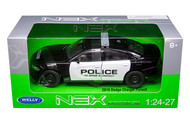 2016 Dodge Charger Police 1/24-27 Scale Diecast Car Model By Welly 24079