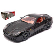Ferrari 599 GTO Black 1/24 Scale Diecast Car Model By Bburago 26019