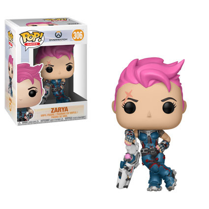 Funko Games Overwatch ZARYA Pop Vinyl Figure