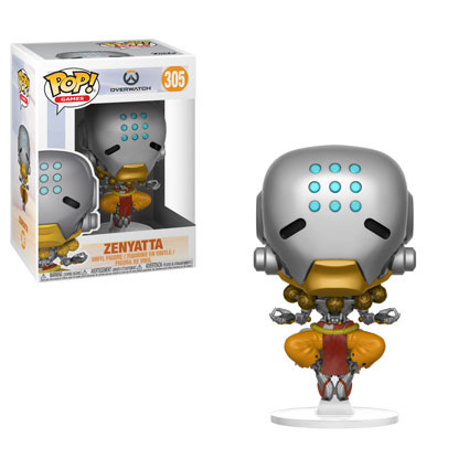 Funko Games Overwatch ZENYATTA Pop Vinyl Figure
