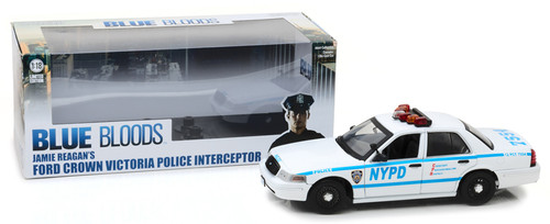 Ford Crown Victoria NYPD Police Interceptor Blue Bloods 1/18 Scale By Greenlight 13513