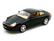 Motor Max 1/18 Scale Porsche 911 Black Diecast Car Model 73101