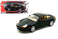 Porsche 911 Black 1/18 Scale Diecast Car Model By Motor Max 73101