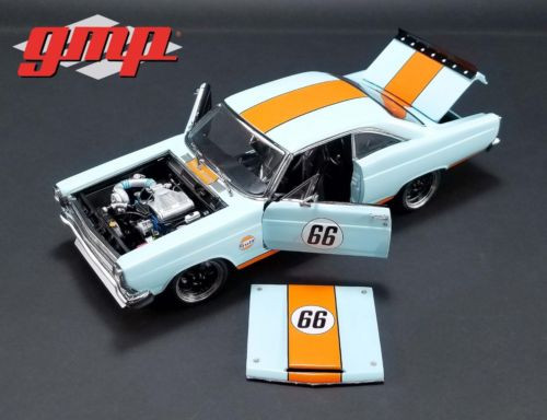 1967 Ford Fairlane Street Fighter Gulf Oil 1/18 Scale Diecast Car Model By GMP 18858