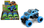 """Extreme Lifted Vehicle Car Blue & Green Box Of 12 5.5"""" Long Pull Back"""