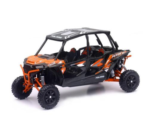 Polaris RZR XP 4 Turbo EPS 4 Seater Orange 1/18 Scale Model By Newray 57843 A