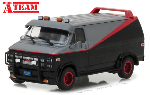 1983 GMC Vandura Van The A-Team 1/24 Scale By Greenlight 84072