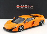 McLaren 675LT Orange 1/18 Scale Car Model By Kyosho 09541