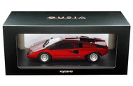 Lamborghini Countach LP400 Red 1/18 Scale Diecast Car Model By Kyosho 09531